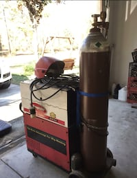Snap-On MIG/TIG Welder with one tank of NOS for welding Ocala, 34481