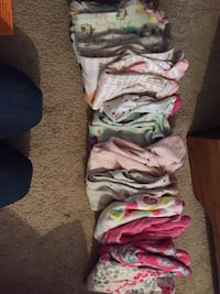 Girl size newborn 13 outfits no stains or tears smoke and pet free home  New Market, 37820