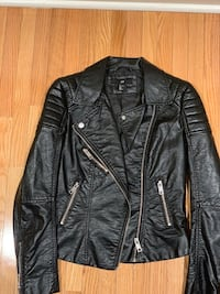 H&M motocycle faux leather jacket  Vaughan, L4J 8N7