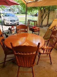 dinning table with 4 chairs Norfolk