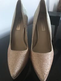 BCBG sparkling pumps - rose gold/silver ombré . Size 9( fits like 8.5) 3123 km