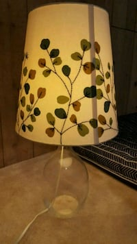 Glass lamp with shade Des Plaines, 60016