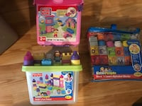 Mega Bloks & Fisher Price Little People Sets - Brand New - $10 each firm