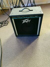 black and gray Peavey guitar amplifier Asheville, 28801