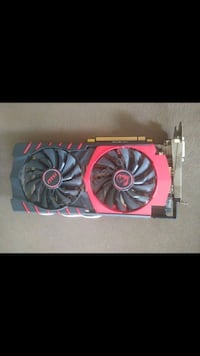 MSI R9 380 gaming 4 GB DDR5   256 mbit