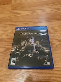 PS4 Playstation 4 - Shadow of War - Lord of the Rings