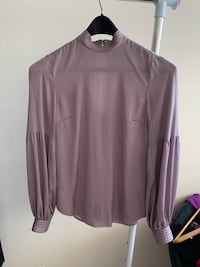 Purple satin blouse Toronto, M4R 2E9