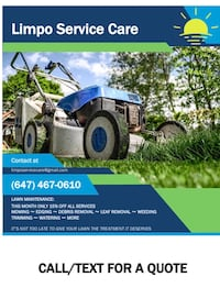 Lawn Care/ landscaping Services Toronto