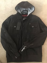 Men's Leather Thinsulated Jacket XL