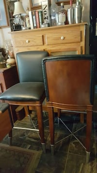 Tall bar stools.
