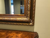HAND CRAFTED GOLD COLORED BIG MIRROR Côte-Saint-Luc