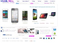 Phone Repair Business Website Design. Brooklyn