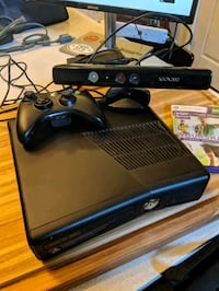 Xbox 360 with Kinect, controller and 2 games Fairfax, 22031