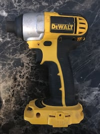 yellow and black DeWalt cordless power drill Edmonton, T5S 1T7