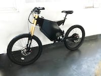 fastest electric bike full suspension 3000 watt 72v and 65KMH TOP SPEED - brand new Richmond