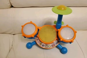 Kids toy drum set electronic