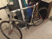 white and black road bike Silver Spring, 20910
