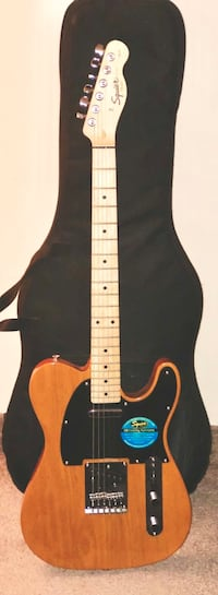 New Squier by Fender Affinity series (plastic unpeeled).