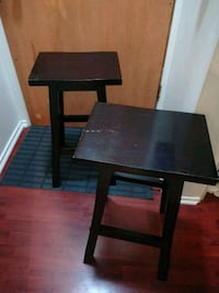 "2 wood stools. 26"" height. 15 bucks!!  Vancouver, V5L 1L2"