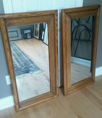 solid wood mirrors Mississauga