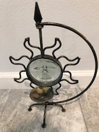 Metal sun candle holder Las Vegas, 89102