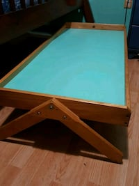 brown and teal wooden table Welland, L3B 2L2