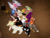 assorted TY Beanie Baby plush toys Burnaby, V5J 4R6