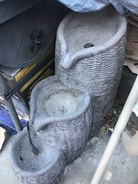 3 tier outdoor water fountain, electric. Works great  Antioch, 94509
