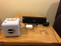 Two iHome 30 Pin iPhone/iPod Speaker Dock Charging Sound Stations!  Centennial