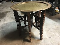 Folding Table and tray made in India  Caledon, L7C 0T9