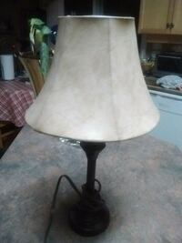 Leather lampshade 18 inc.metal Kelowna, V1X 7Z6