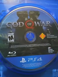 PS4 God of war new  Vancouver, V5P 2N9