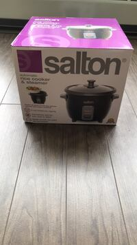 Rice cooker brand new Burlington, L7L 1C2