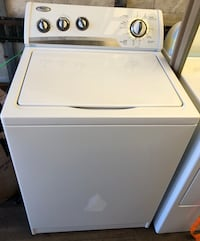 white top-load clothes washer 415 mi
