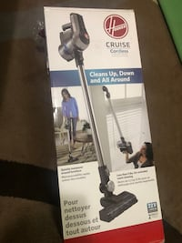 The Hoover cordless vacuum (Sealed brand new in box)