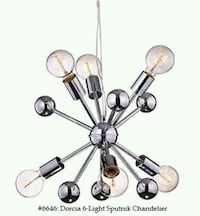 Dorcia 6 - Light Sputnik Chandelier - Delivery