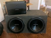 12 inch Kenwood dual subwoofers Lewisville, 75067