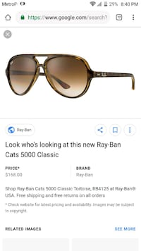 Ray bands (no box) Louisville, 40215