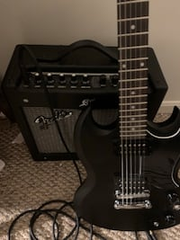 Epiphone sg ve with fender mustang amp North Potomac, 20878