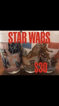 Star Wars vintage glasses Houston, 77008