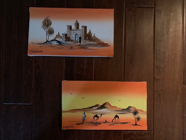Brand new Beautiful Moroccan painting $30 each