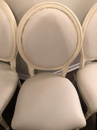 Off white 4 Louis chairs  Barrie, L4N 0E8