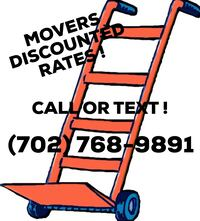 MOVERS DISCOUNTED RATES !  Las Vegas, 89108