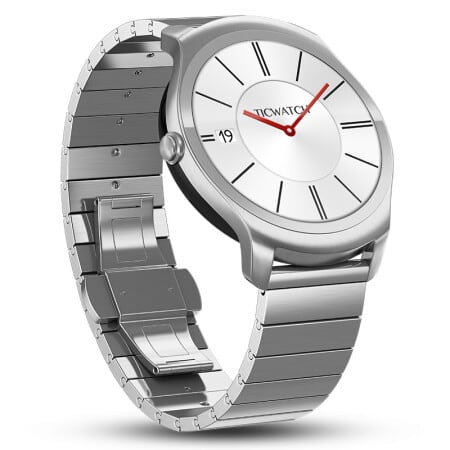 Ticwatch 2 Classic 42mm Stainless Steel Smartwatch