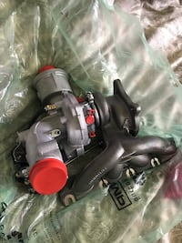 Brand new ko3 turbo with ecs installation kit, gasket included