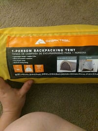 1 person backpacking tent  Sacramento, 95826