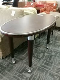 Ra intercontinental oval pedestal table Mississauga