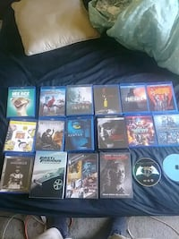 Blue ray and dvds for sell (brand new) Orlando
