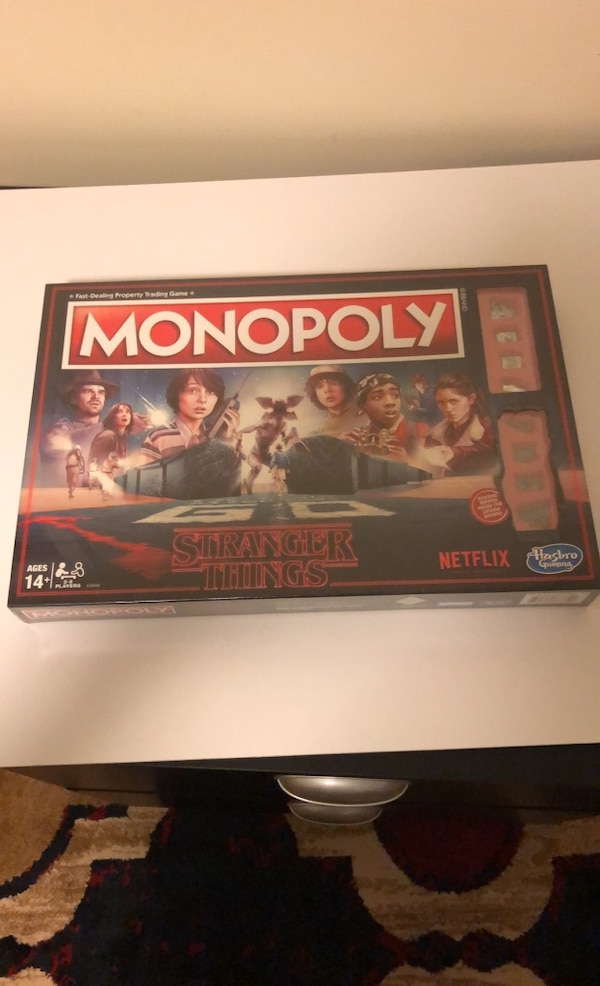 Never Opened Brand New | Stranger Things Monopoly 9a9d8748-9d66-4a70-b764-5018be72405f