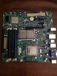 intel motherboard DG35EC with RAM and E4600 Homestead, 33033
